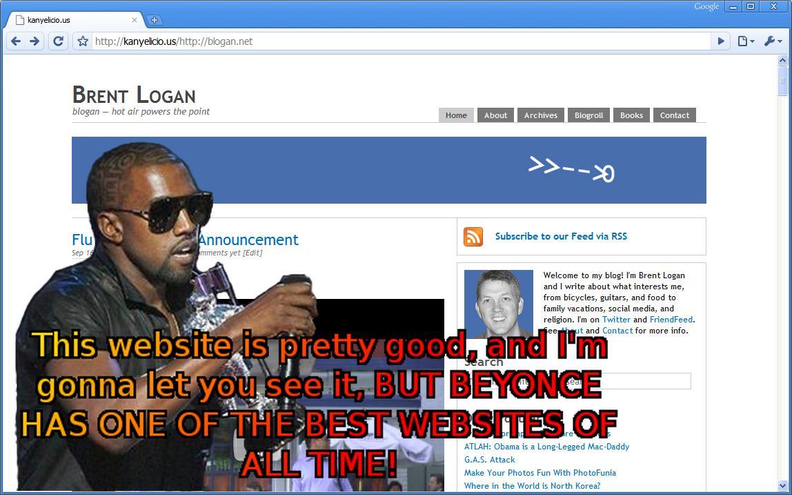 Kanye Cuts In