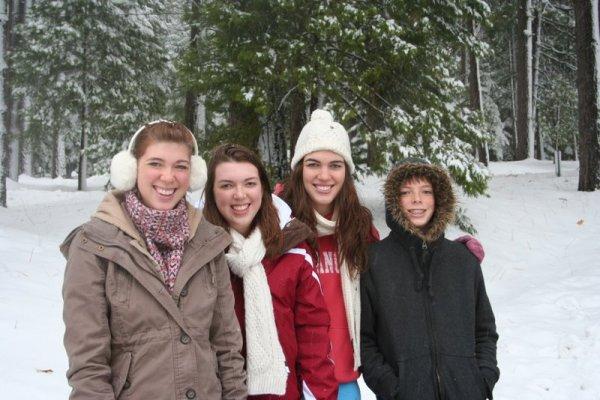 Ashley, Melissa, Heather, and Jamison