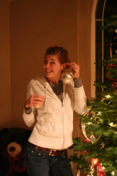 Christmas ear rings