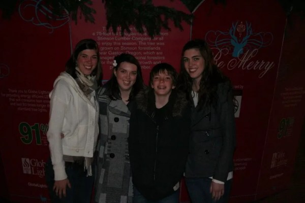 Ashley, Melissa, Jamison, and Heather