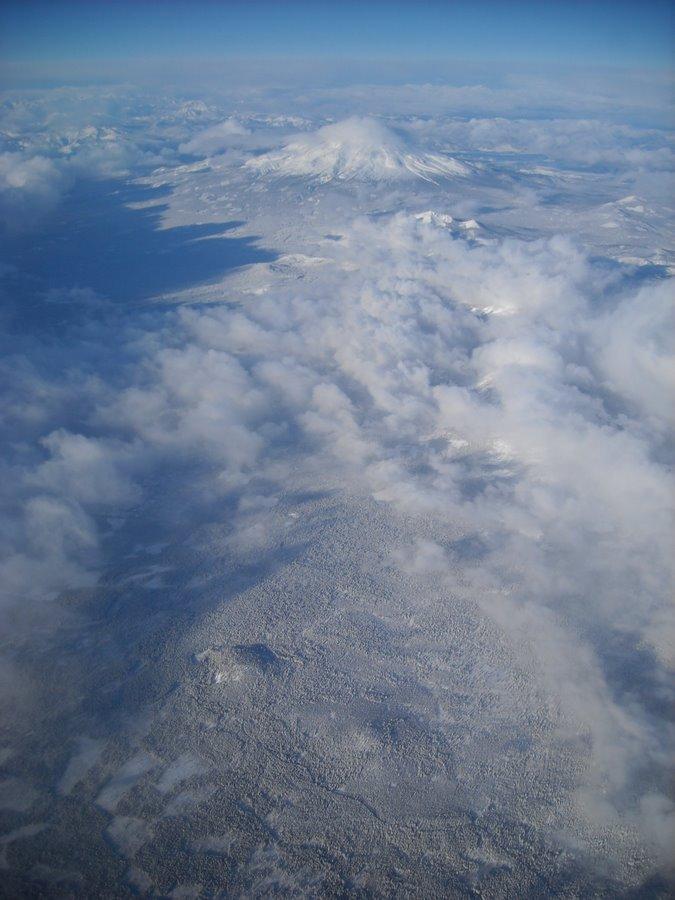 Snowy Mount Shasta