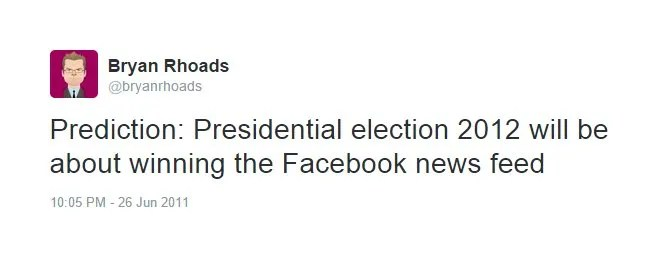 Politics on Facebook? No Thanks!