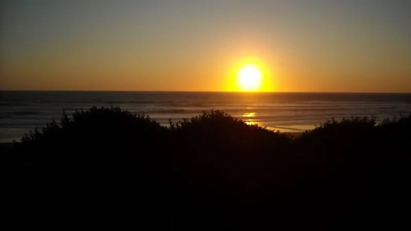 Sunset at Lincoln City