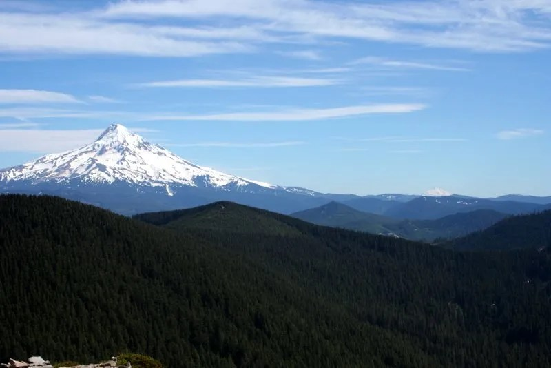 View of Mt. Hood from Chinidere Mountain