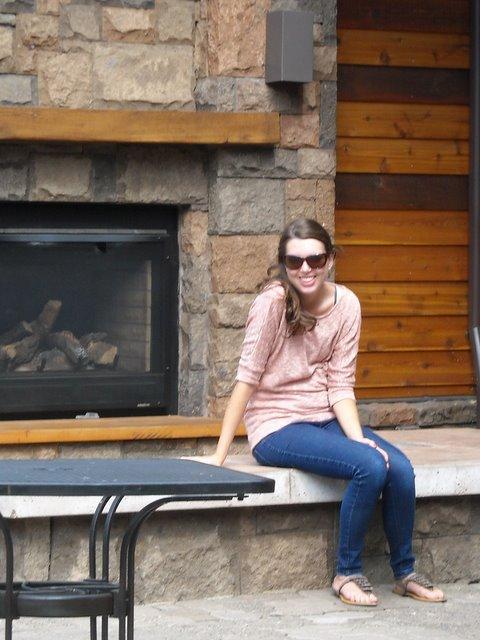 Melissa waiting