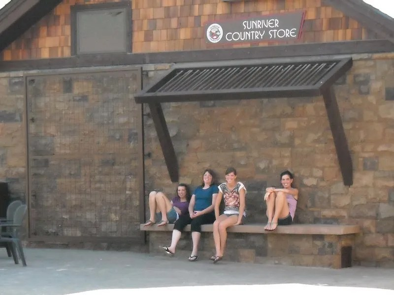 Relaxing in Sunriver before continuing on