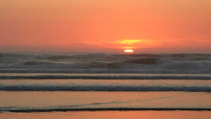 Sunset from Cannon Beach