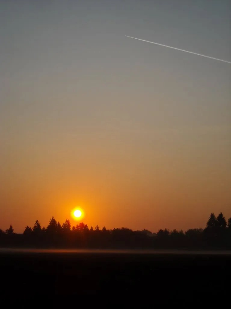 Sunrise in Hillsboro