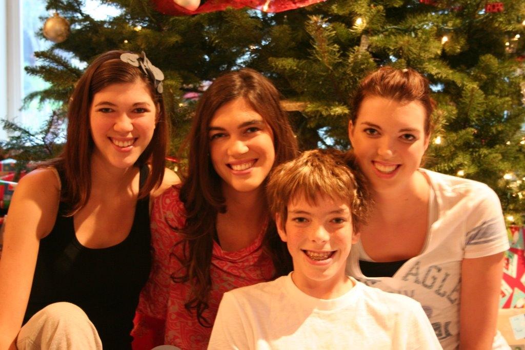 Ashley, Heather, Jamison, and Melissa