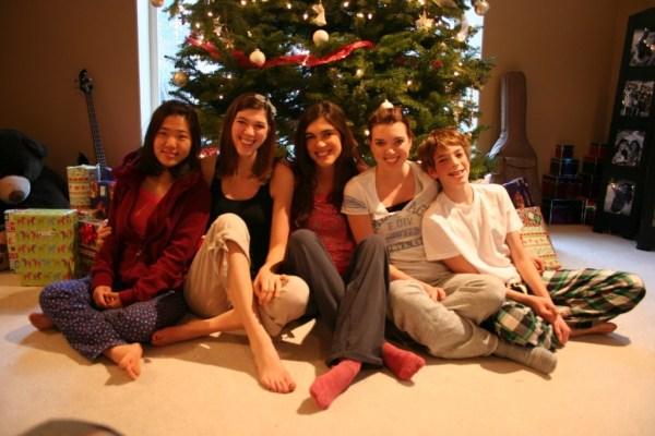 Yuna, Ashley, Heather, Melissa, and Jamison