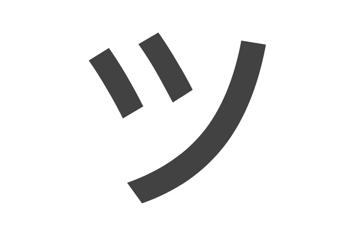 Single Character Smiley — ツ