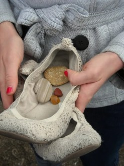 Melissa's collection in a shoe