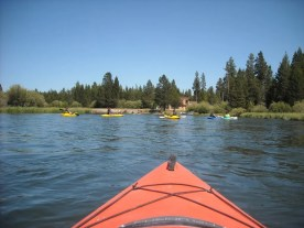 Floating down the Deschutes