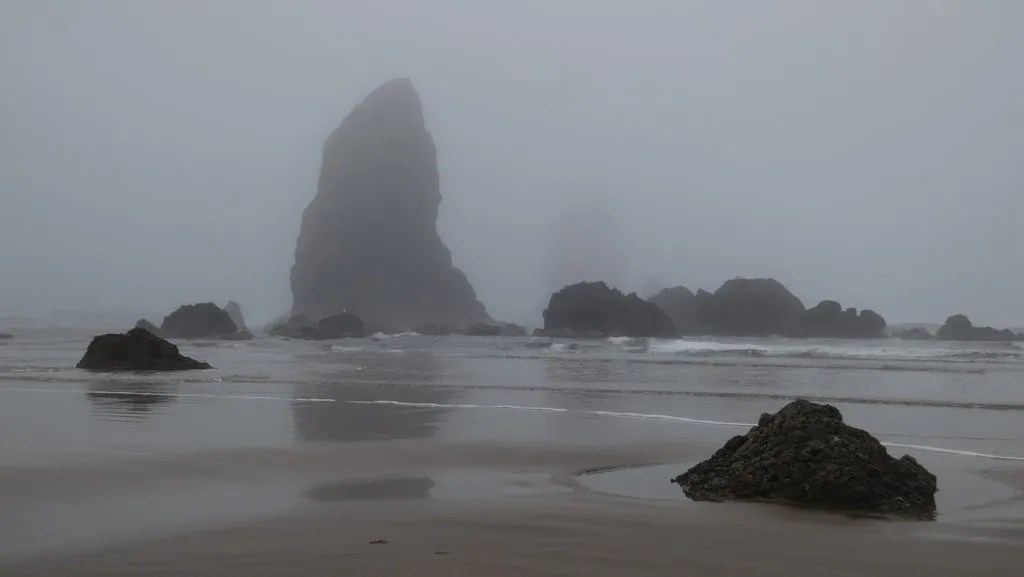 The Needles by Haystack Rock