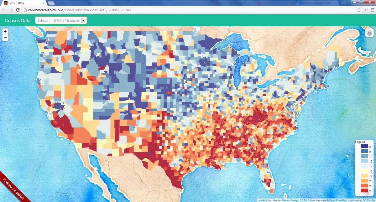 Mapping American Community Survey Data