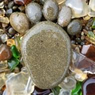 Barefootin' on Glass Beach