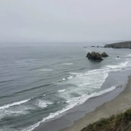 Pacific Ocean north of Fort Bragg