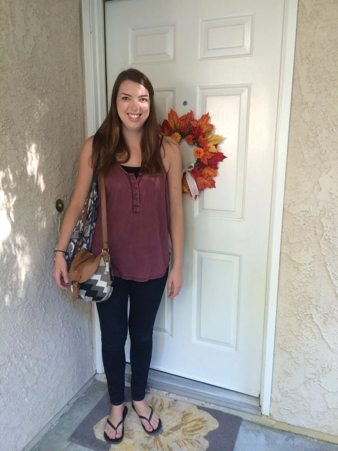 Melissa's First Day of School 2014