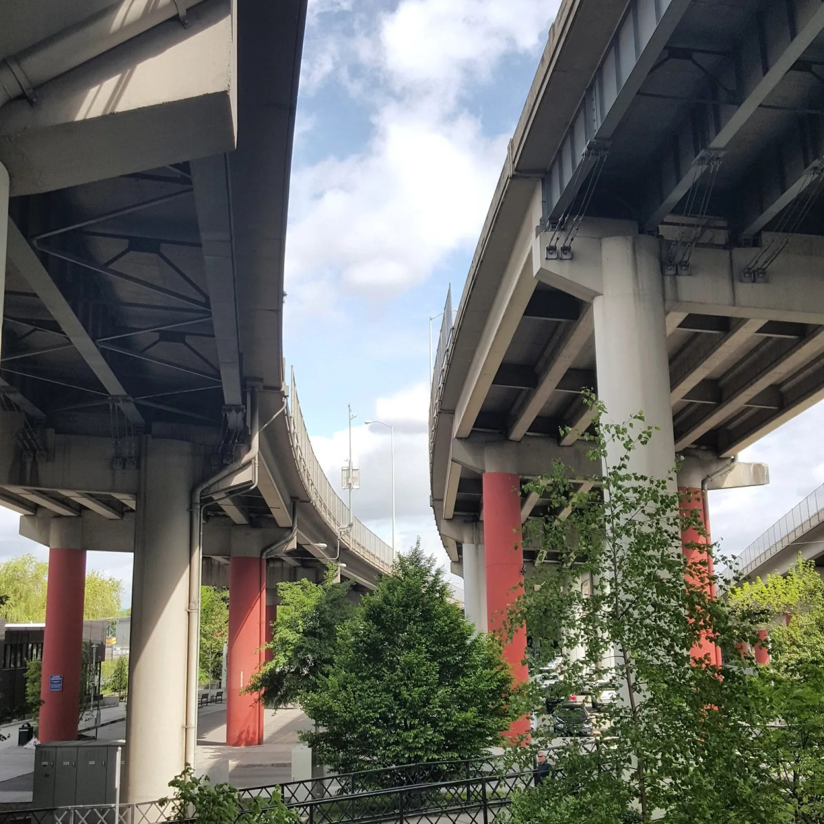 Marquam Bridge Ramps