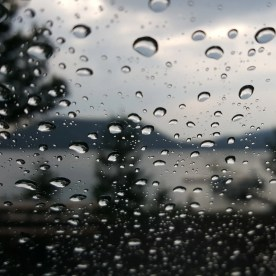 East Lake rain