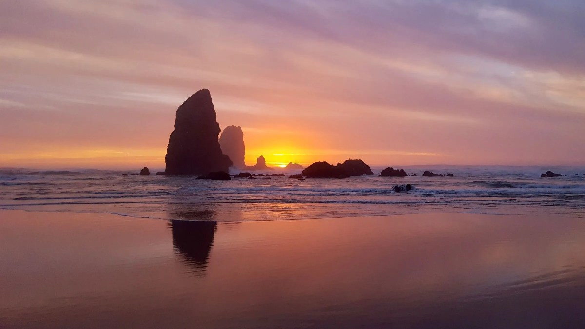 Quick evening trip to Cannon Beach