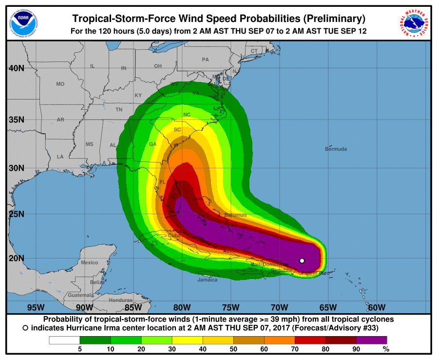 How to Follow Hurricane Irma