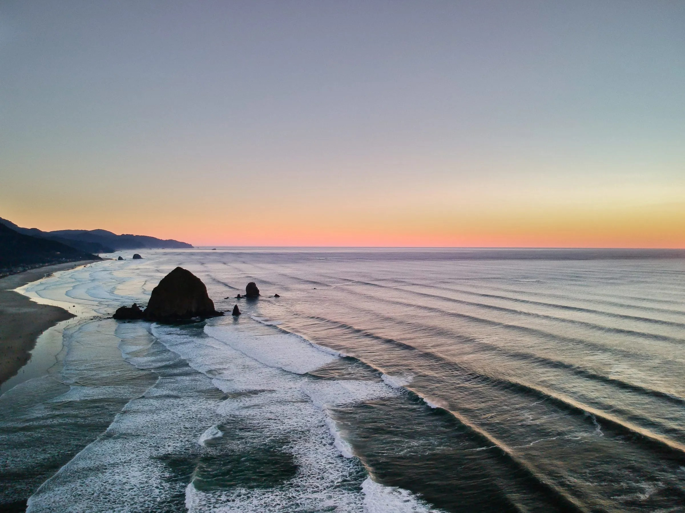Haystack Rock at Cannon Beach by Jamison Logan