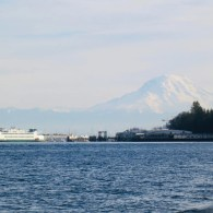 Mount Rainier from Point Defiance Park