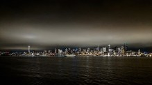 Downtown Seattle from the ferry