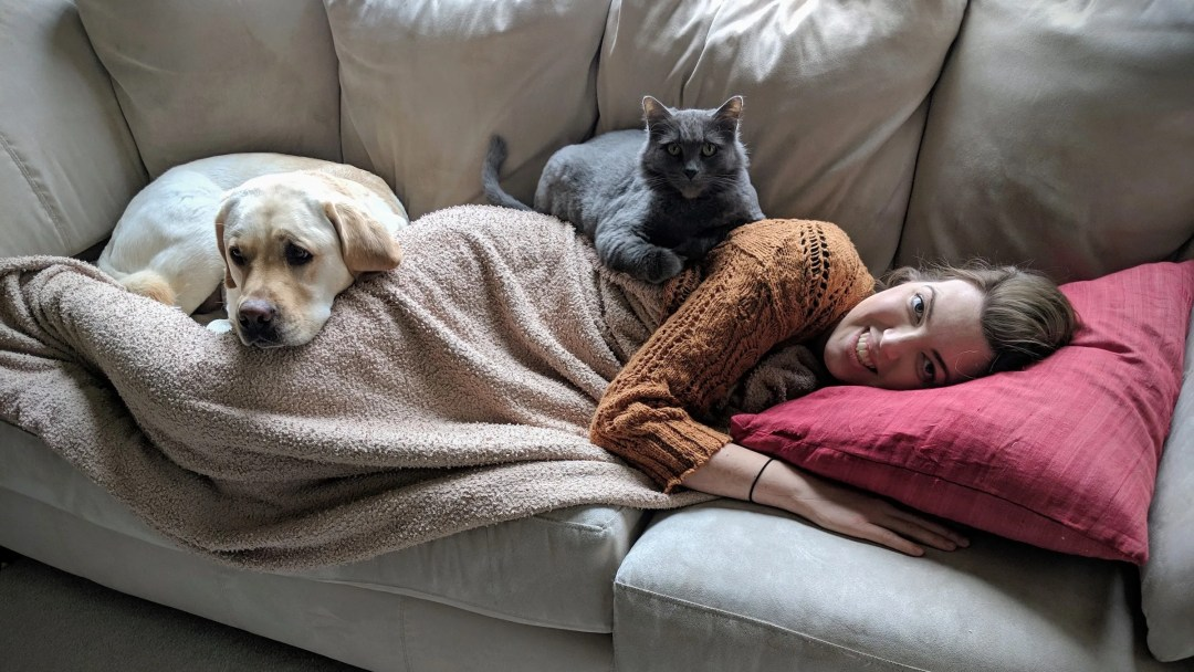 Melissa and the animals