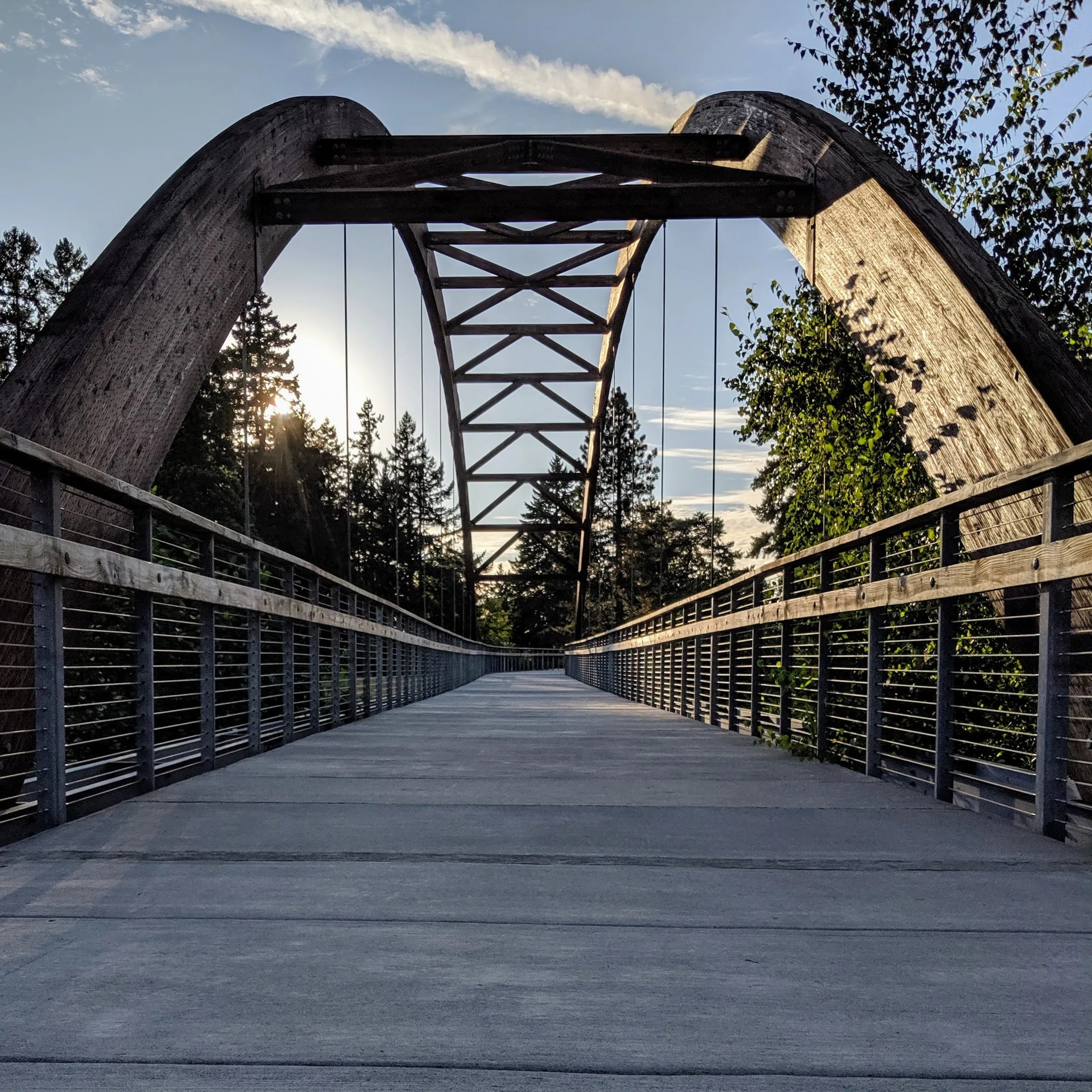 Bridge in Orenco Park