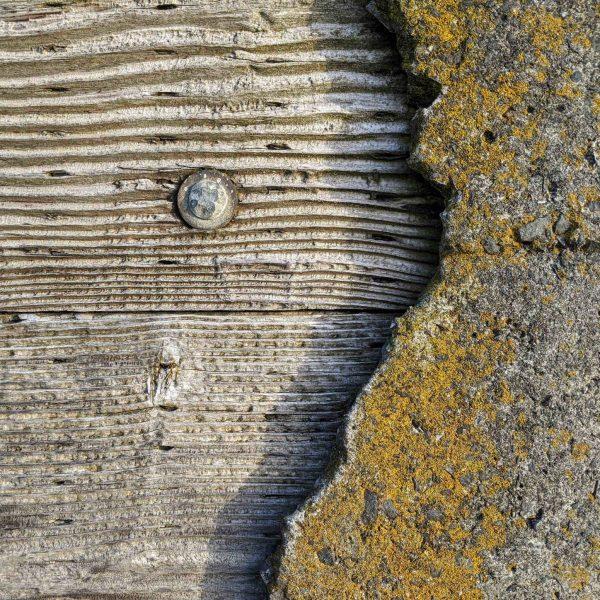 Sea wall detail