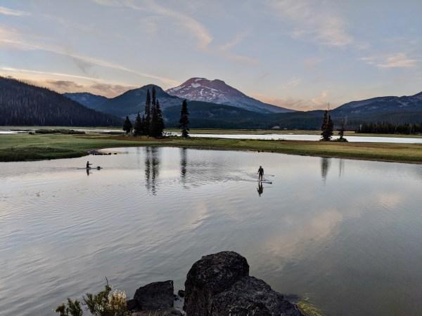 Sparks Lake