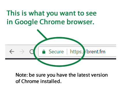 Secure your website with ssl via https