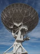 One of the 27 dishes in the Very Large Array