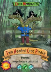 duel_monster_card_two_headed_crocodile_pirate