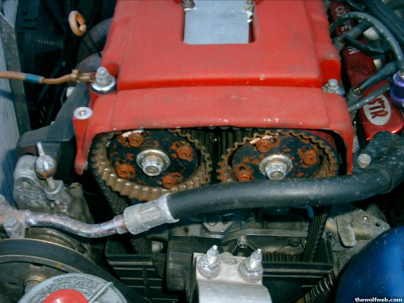 How To Cut The Valve Cover For Cam Gears?