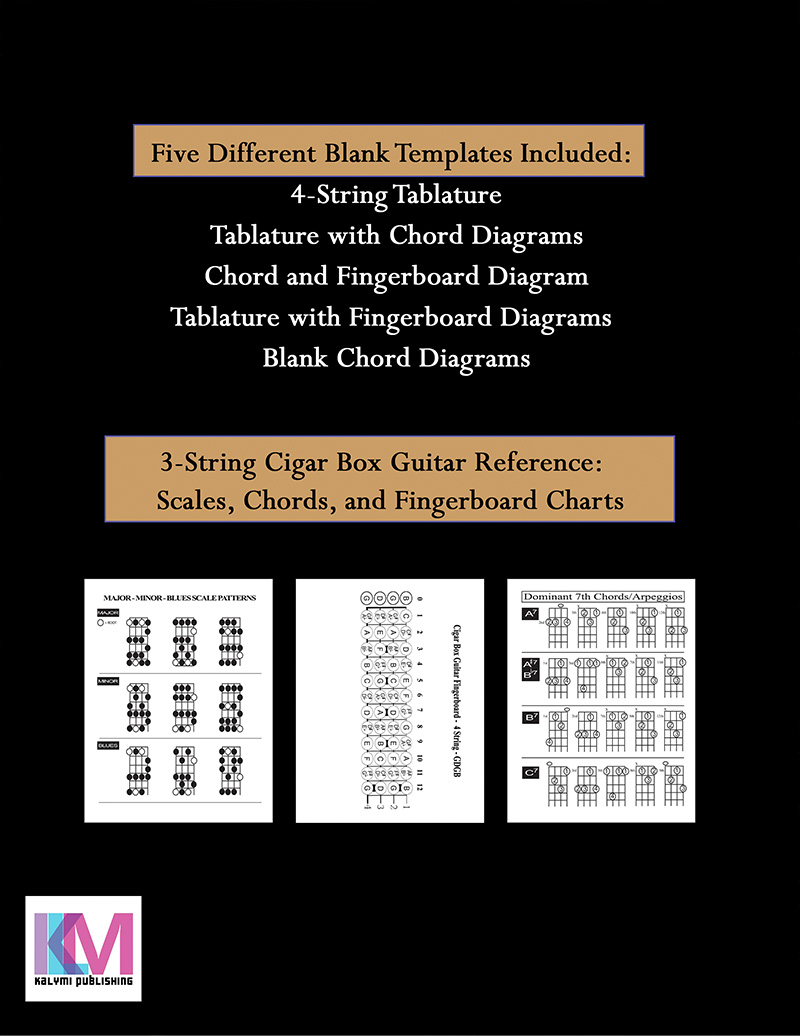4-string-blank-tablature-workbook-reference-back-cover