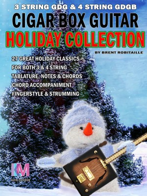 Cigar Box Guitar - Holiday Collection