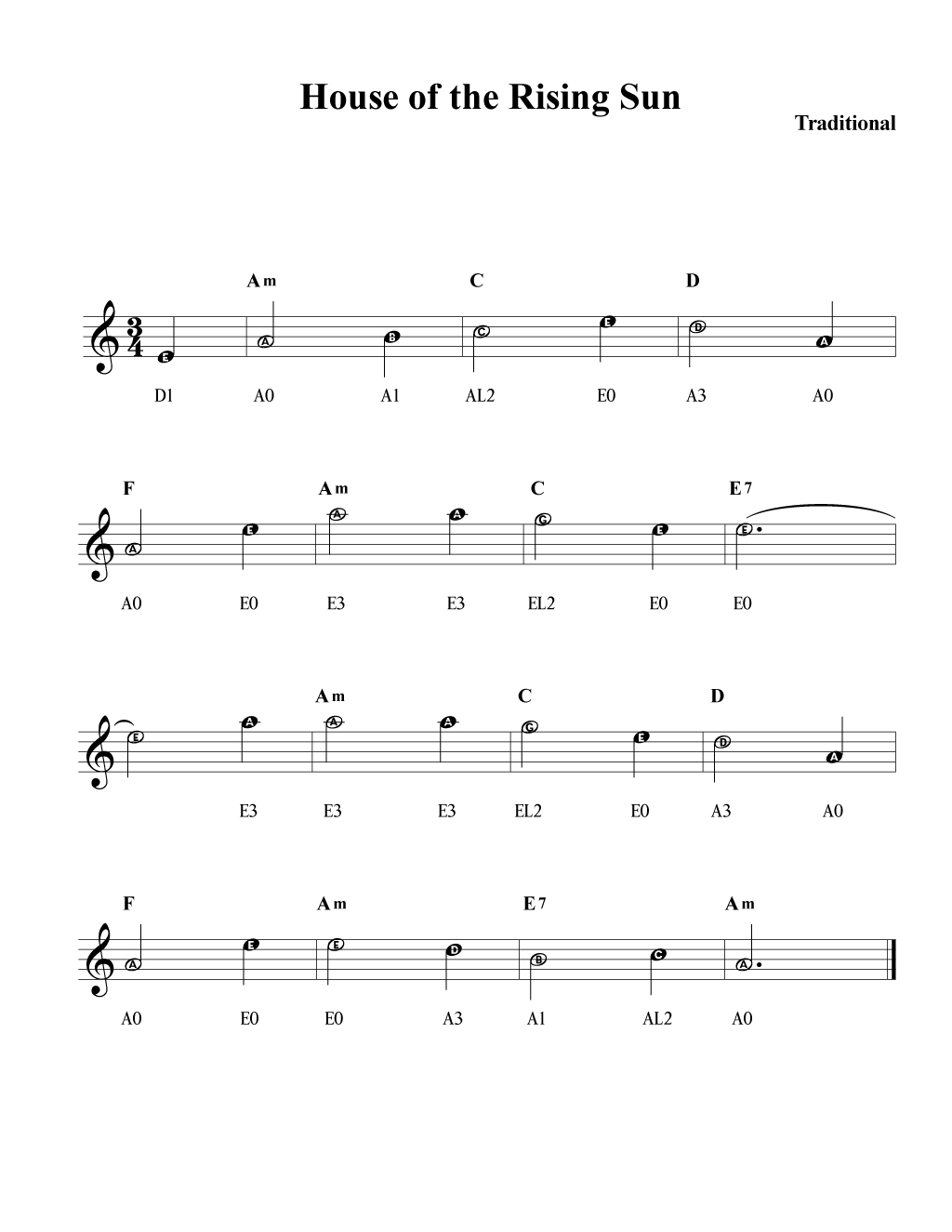 House-of-the-Rising-Sun-fiddle-tab-violin-tablature
