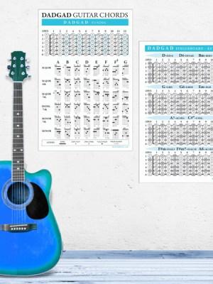 Dadgad-Guitar-Chord-Fingerboard-Poster-wall
