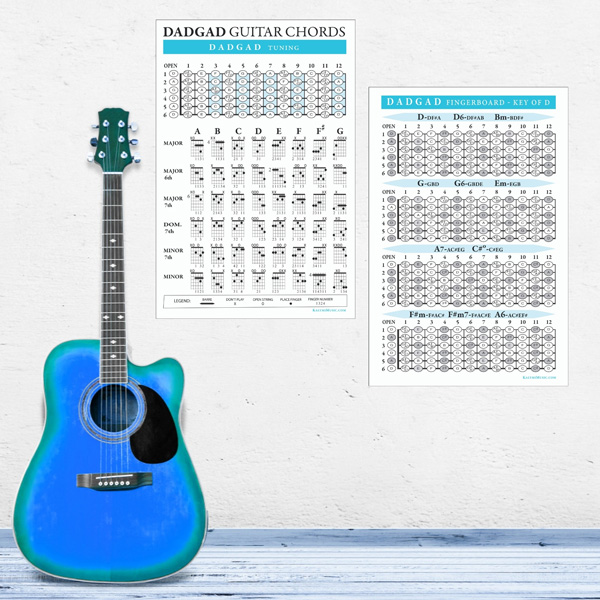 Dadgad-Guitar-Chord-Fingerboard-Poster-wall