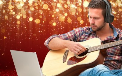 Two Christmas Fingerstyle Arrangements in Open D Guitar Tuning
