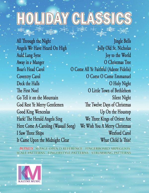 The Open D Guitar Christmas Songbook