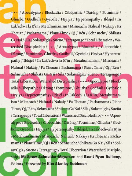 Cover of An Ecotopian Lexicon