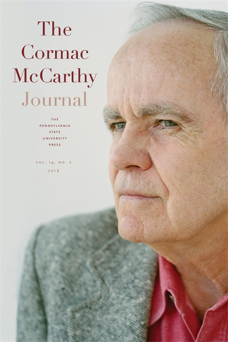 Cover of the Cormac McCarthy Journal