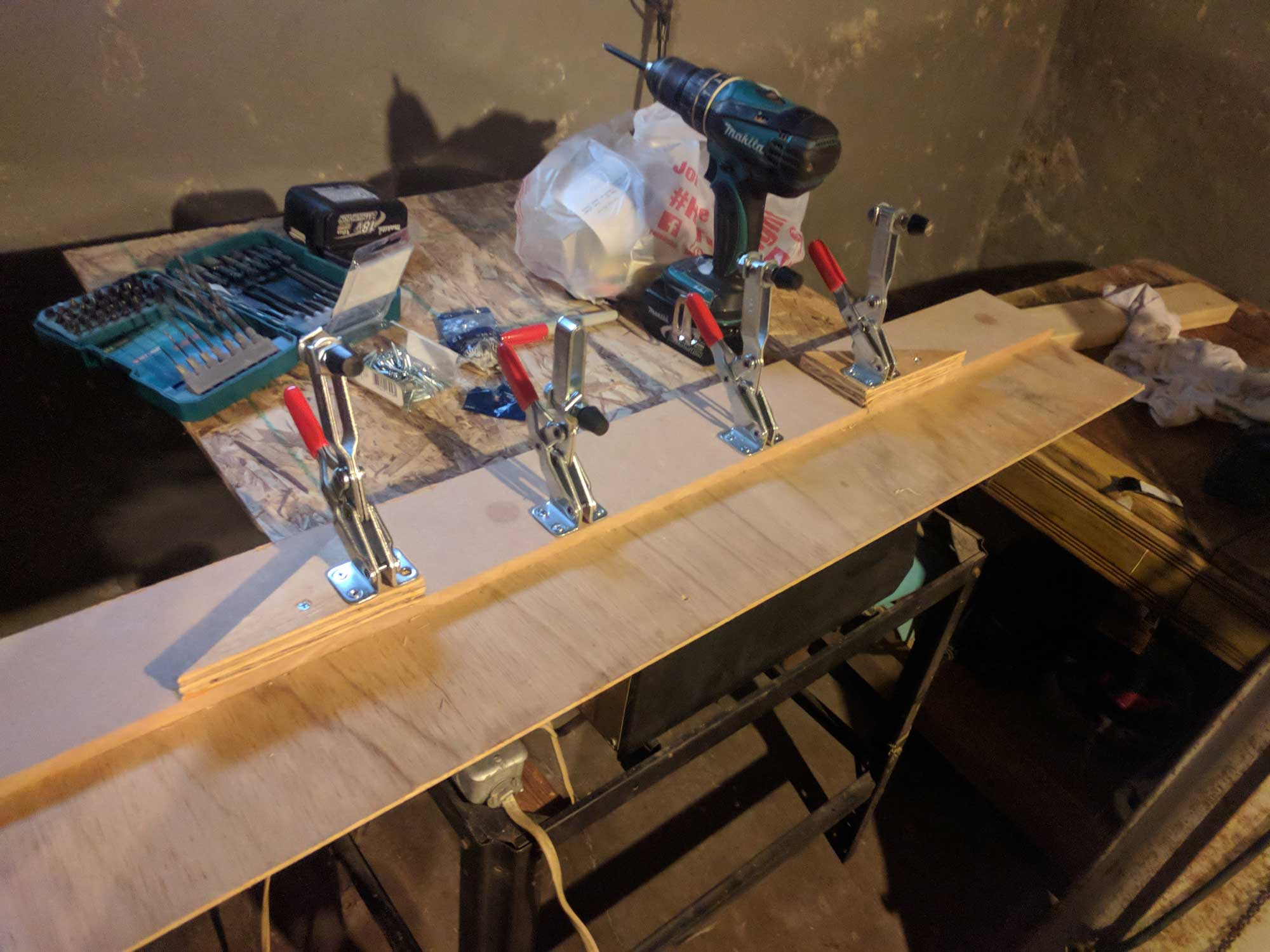 Image of a tapering jig