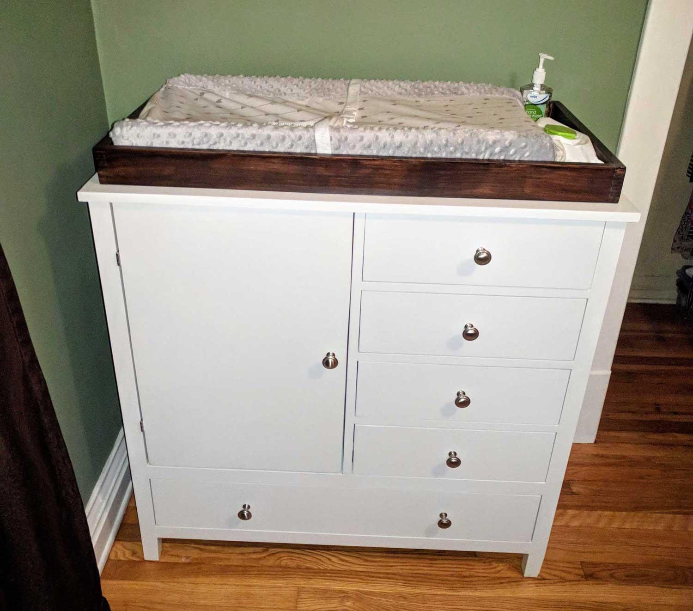 Image of finished dresser