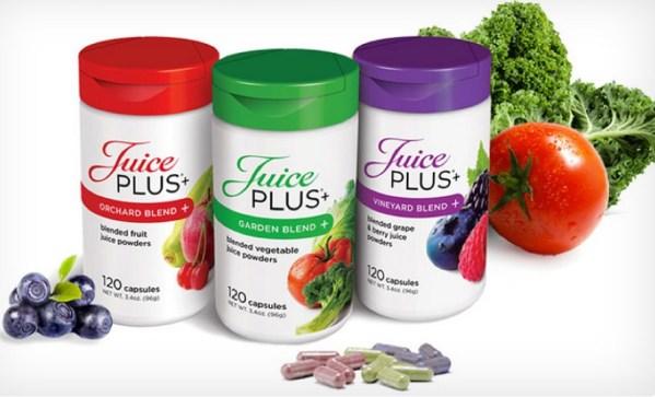Juiceplus Capsules: Trio