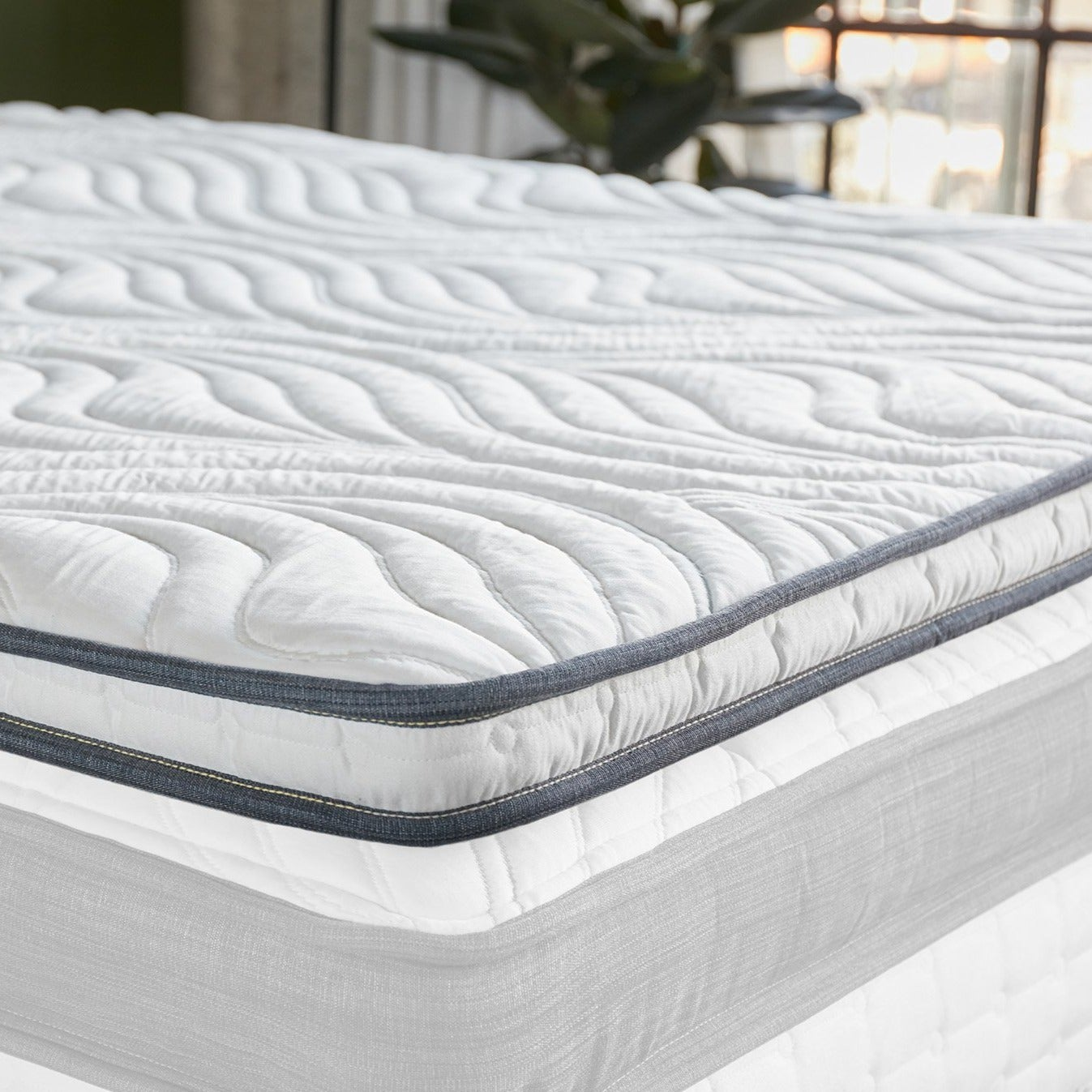 Oceano Memory Foam Mattress Topper View 1